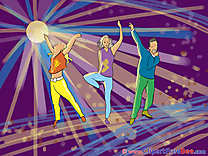 Dances People download Party Illustrations