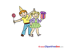 Lollipop Gift Children Party download Illustration