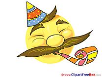 Smile Celebration Pics Party Illustration
