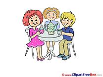 Tea Party Clip Art download