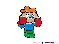 Boxer Pics printable Cliparts
