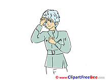Boy Anime Clipart free Image download