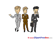 Business People Clipart free Illustrations