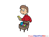 Buyer Boy Clipart free Illustrations