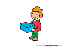 Delivery Man free Cliparts for download