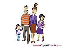 Family free Cliparts for download