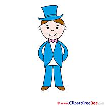 Gentleman Clipart free Illustrations