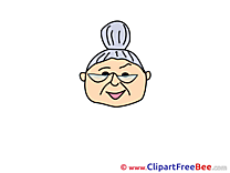 Grandmother download Clip Art for free