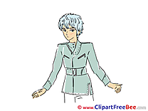 Man Anime Pics free download Image