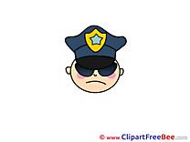 Policeman download printable Illustrations