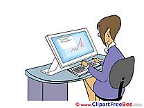 Secretary download Clip Art for free