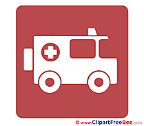 Ambulance Pictogrammes Illustrations for free