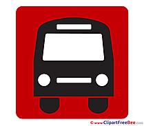 Bus Pics Pictogrammes free Cliparts