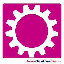 Cogwheel Clipart Pictogrammes Illustrations