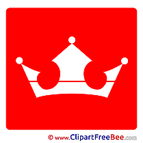 Crown Pictogrammes Illustrations for free