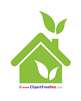 House Eco Pics Pictogrammes free Cliparts