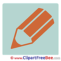Pencil free Cliparts Pictogrammes