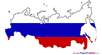 Russia Map free Illustration Pictogrammes