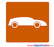 Sport Car free Illustration Pictogrammes