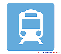 Train Pics Pictogrammes Illustration