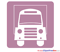 Truck Pictogrammes free Images download