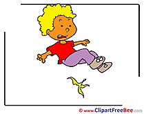 Banana Skin Boy Clipart free Illustrations