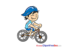 Cyclist Clip Art download for free