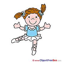 Dancer Clipart free Illustrations