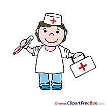 Doctor Medical Kit download printable Illustrations