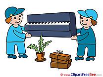 Piano Loaders Pics download Illustration