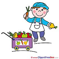Seller Fruits Vegetables Images download free Cliparts