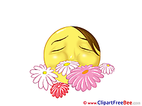 Flowers Smiles Illustrations for free