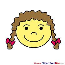 Gleeful Pics Smiles Illustration