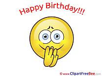 Happy Birthday Smiles Illustrations for free