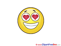 In Love Cliparts Smiles for free