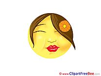 Kiss free Illustration Smiles