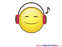Music Cliparts Smiles for free