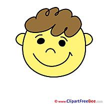 Pleased printable Illustrations Smiles