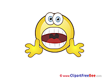 Shout Smiles Illustrations for free