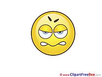 Upset Clipart Smiles Illustrations