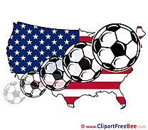 America download Football Illustrations
