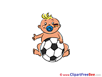 Baby download Football Illustrations