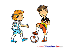 Children printable Football Images