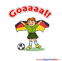 Flag Germany Pics Football free Cliparts