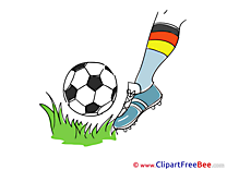Foot Clip Art download Football