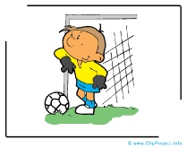 Goal Keeper Cartoon Clipart