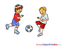 Kids Soccer Pics Football free Cliparts