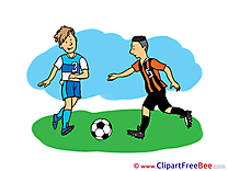 Team Football Clip Art for free