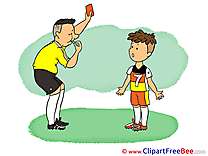 Violation Clipart Football Illustrations