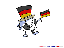 Winner Germany Football Clip Art for free